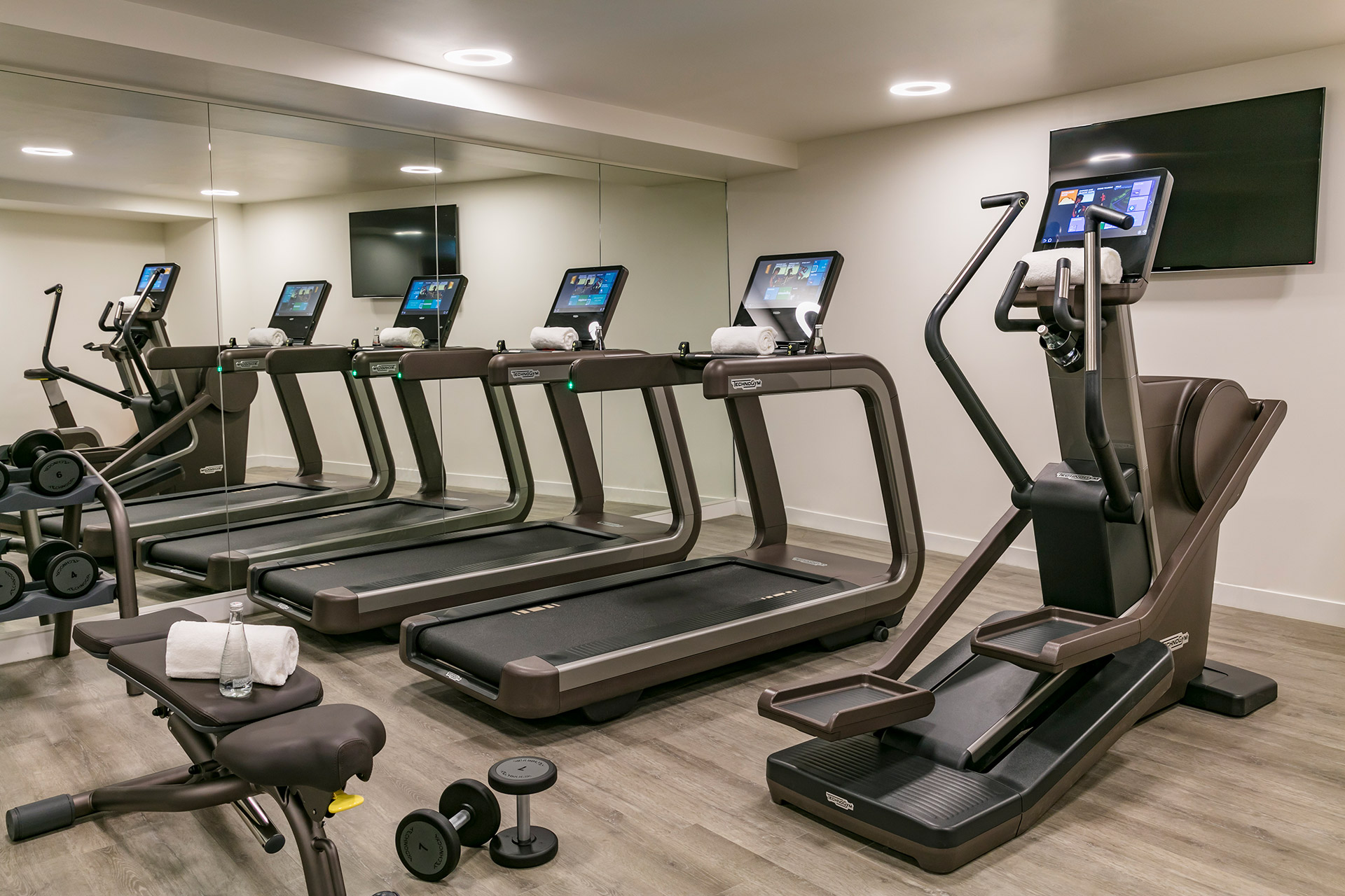 Spa Pont-Neuf by Cinq Mondes fitness room